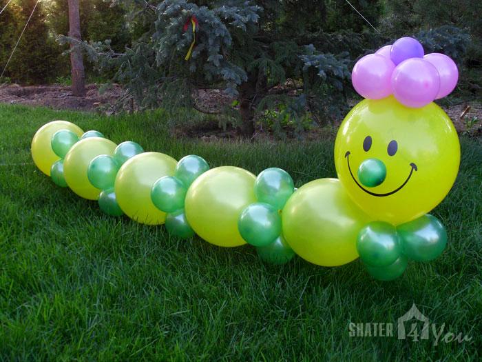 Как украсить шарами праздник 160
